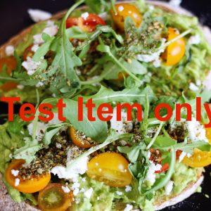 test bread n salad